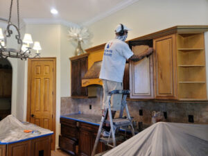 Residential Cabinet Painting
