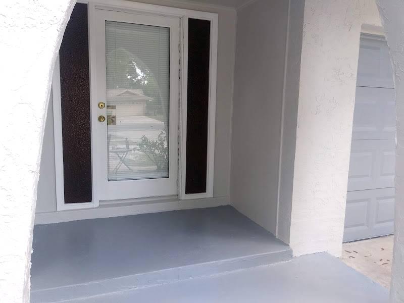 Residential - Porch and Garage Door