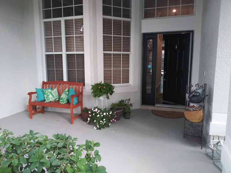 Residential - House Porch Painting